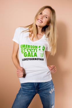 MetaWear vneck print tshirt
