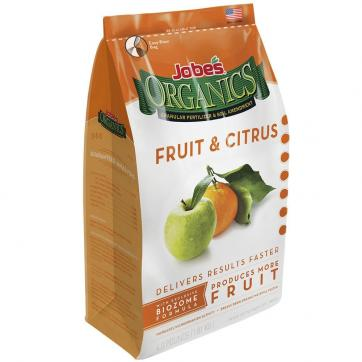 Jobe's Organics Fruit & Citrus Fertilizer with Biozome