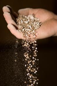 Fertilizer in Hand