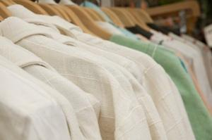 Organic hemp clothing is made from sustainable fabric.