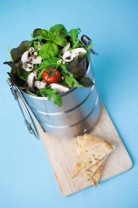 A healthy organic lunch