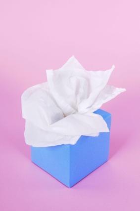 organic tissue paper
