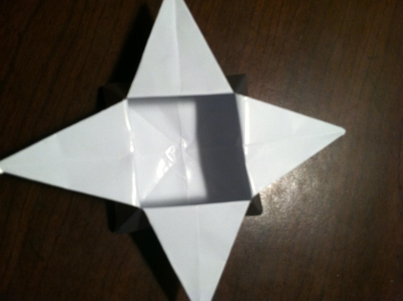 Origami Pyramid Gift Box, Pot or Decoration Tutorial - Paper Kawaii | 968x1296