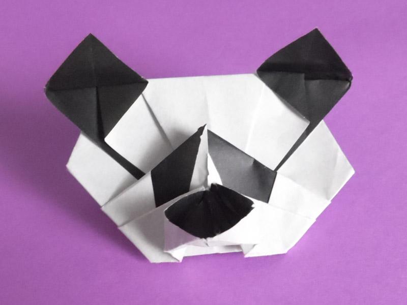 Paper Folding Art Origami: How to Make Panda Family - YouTube | 600x800