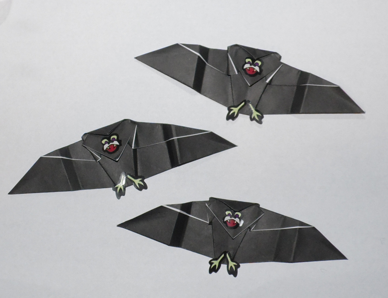 Origami Bat Instructions and Photos | 615x800
