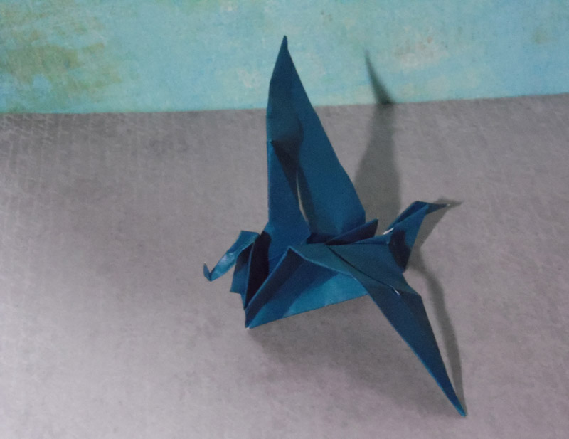 how to make a simple origami dragon origami drago easy origami ... | 617x800