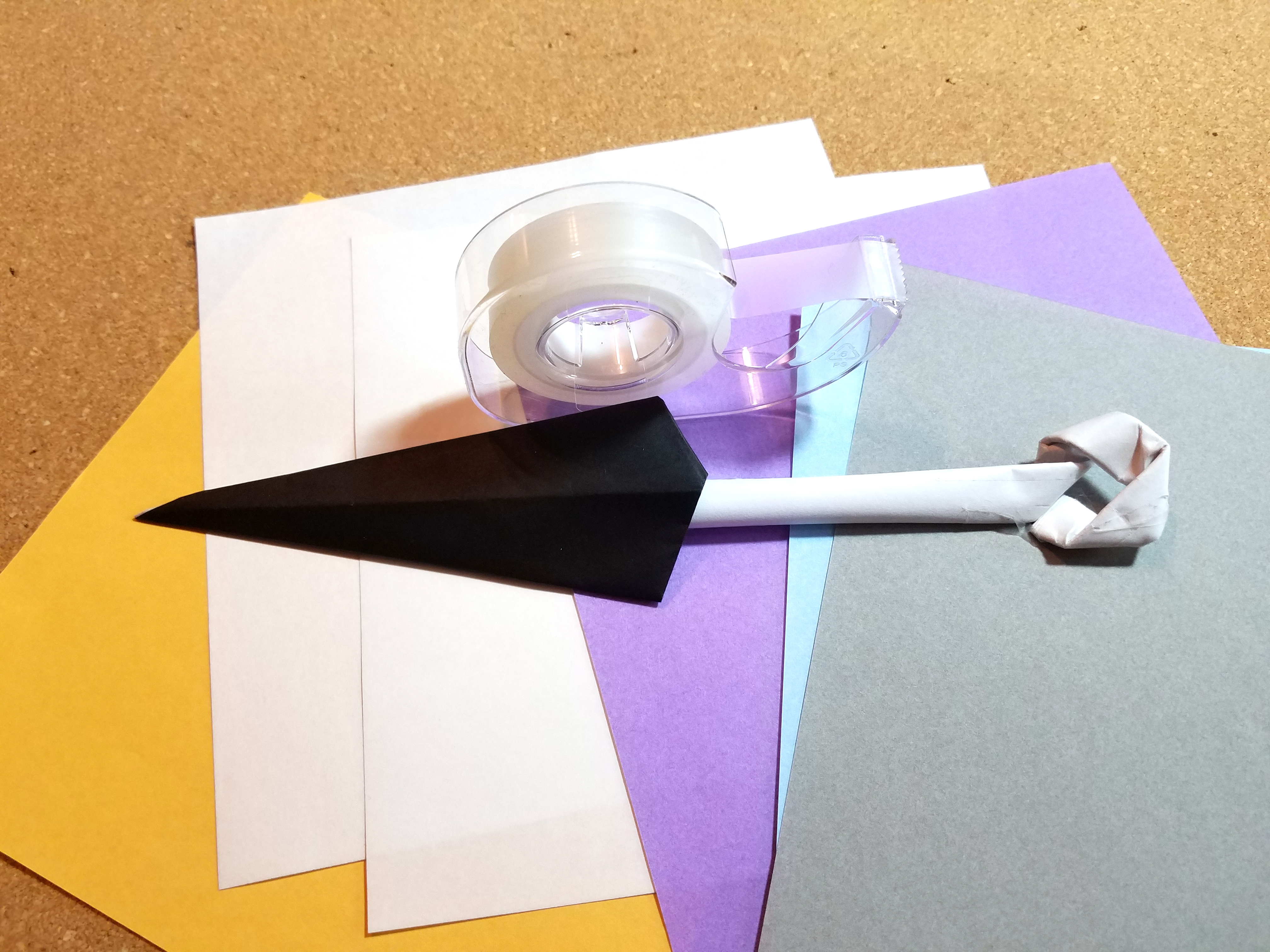 How To Make A Paper Knife Fold An Origami Sword