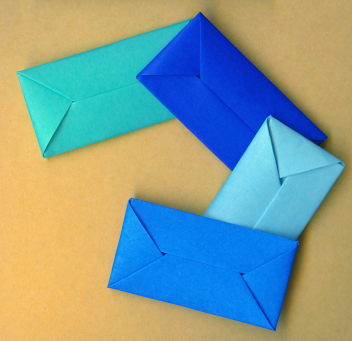 Origami square flower envelope best envelope 2017 origami easy square flower envelope with secret message mightylinksfo Choice Image