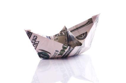 Free Folding Diagram: Bull Money Origami Instructions. | Money ... | 282x426