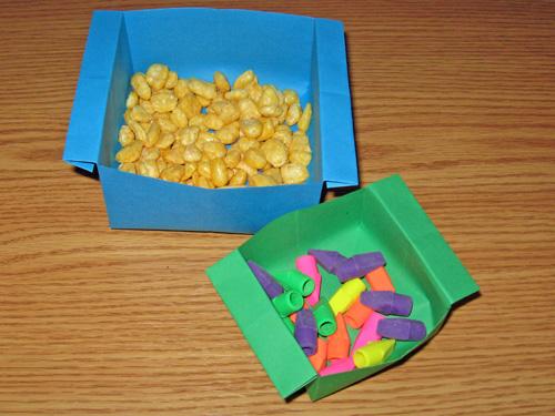 Easy Origami Bowl Tutorial - YouTube | 375x500