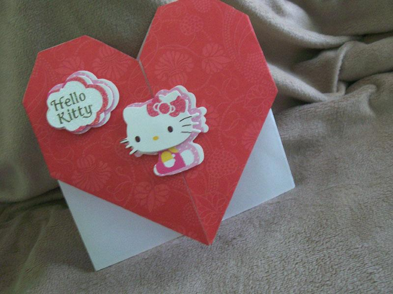 Visual Instructions For Origami Valentine Cards Lovetoknow