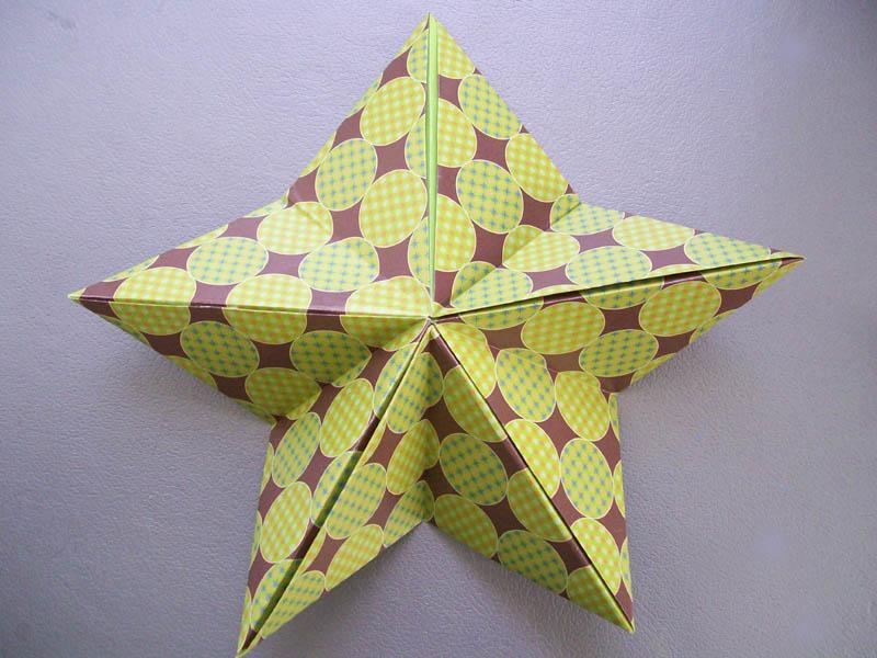 Visual Instructions For Origami Stars Lovetoknow