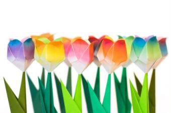 Flower Origami Diagrams