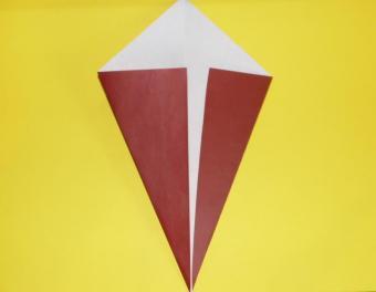 origami turkey, step 1