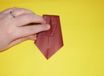 origami turkey, step 3