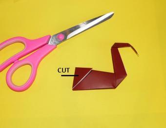 origami turkey, step 5