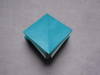 origami dragon step 2