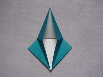 origami dragon step 4