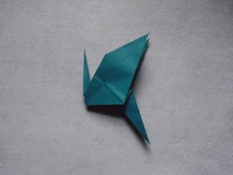 origami dragon step 8