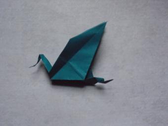origami dragon step 9