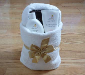 Towel Origami Basket