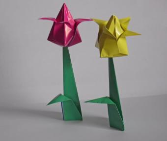 Tulip Origami Instructions