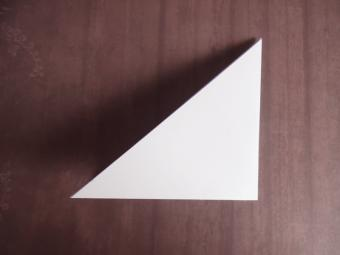 origami wolf step 2
