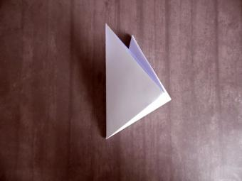 origami wolf step 3