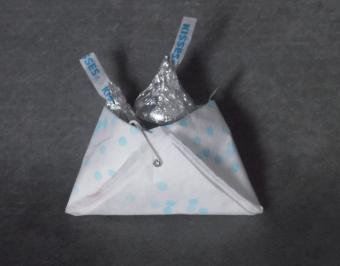 napkin diaper with candy
