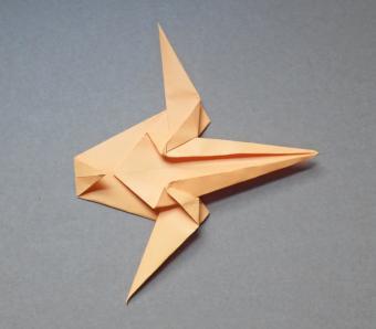 origami tiger 10