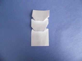 origami snowman 03