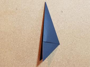 Step 4a- fold again to the left