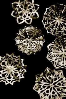 Snowflakes in silver