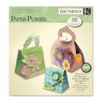 Folded Paper Purse