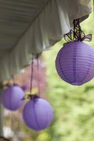 Use origami to make paper lanterns.