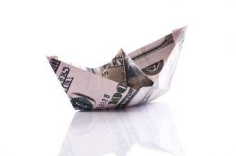 Dollar Bill Origami Hat