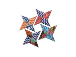 Origami throwing stars