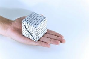 Folded Paper Cube