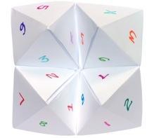 Printable Origami Fortune Teller