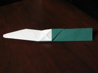 How to Make an Origami Knife Slideshow