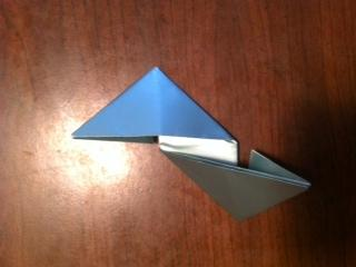 origami star base 3