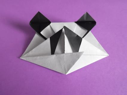 origami panda step 6