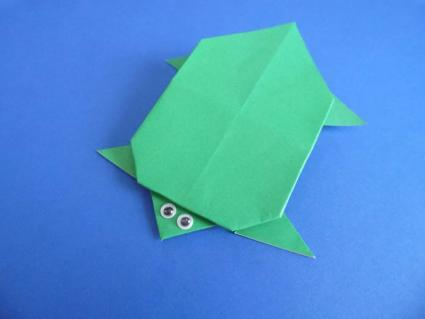 origami turtle step 6