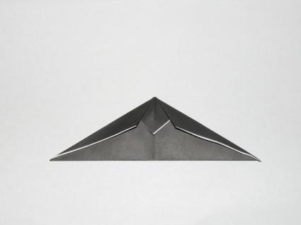 origami bat step 2