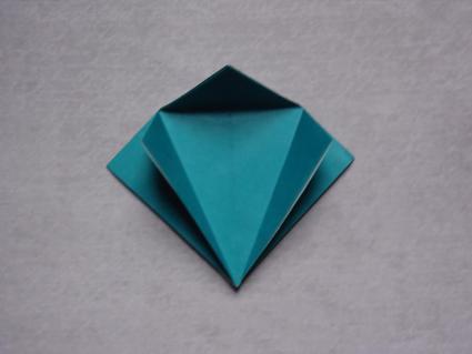 origami dragon step 3