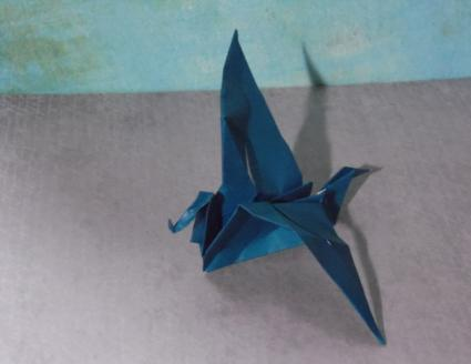origami dragon step 10