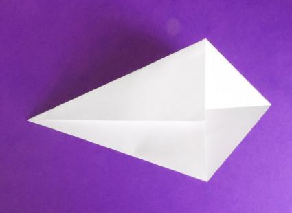 origami unicorn step 1