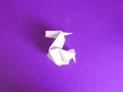origami unicorn step 8