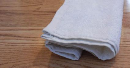 towel cat step 5