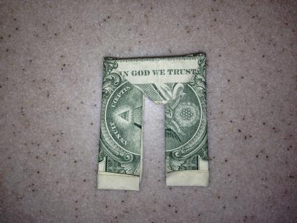 Dollar bill pants